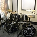 private drum room