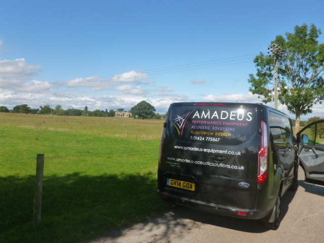 Arrival to Bredon site