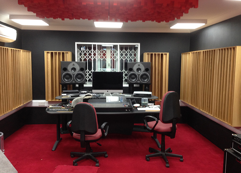 music studio design amadeus