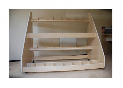 violin storage racks