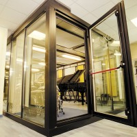 Ultra modern acoustic rooms