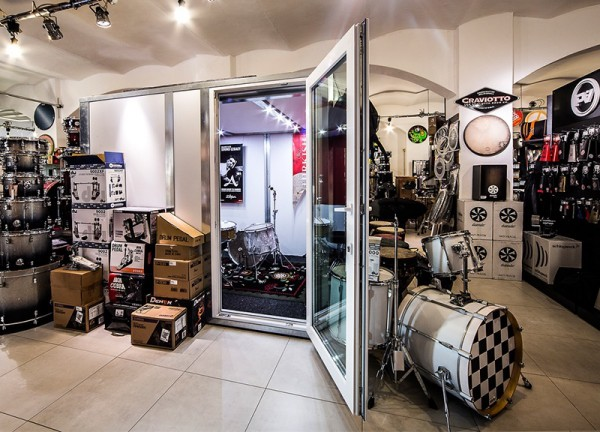 Beau Music Pod · Drum Room