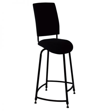 Opus Mk5 saddle seat bass stool side view 1