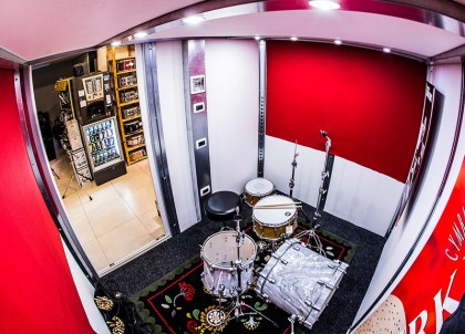 M-Pod soundproof pods ideal for drum practice