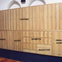 Instrument Storage Labelled