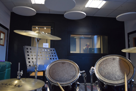 drum and studio