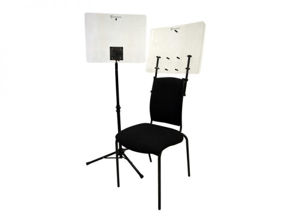 Dual Layer Acoustic Shield Free Standing and Opus 1 mounted
