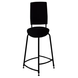 Opus Mk5 saddle seat bass stool front view