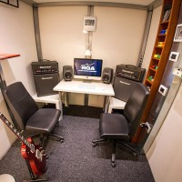 M-Pod recording studio internal