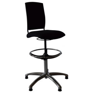Opus 5* musicians' swivel chair side view 1