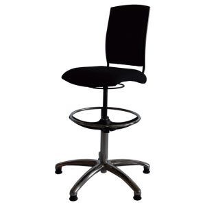 Opus 5* musicians' swivel chair side view 2