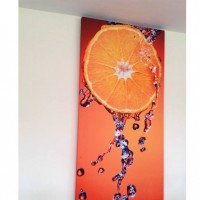 Printed artwork panel clementine
