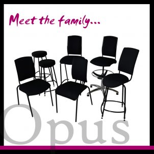 Opus musician posture seating family photo